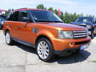 Range Rover Sport 4,2 V8  ZADÁNO