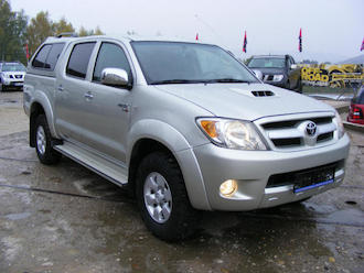 Hilux 2,5 D4D, 88 kW, HARD TOP