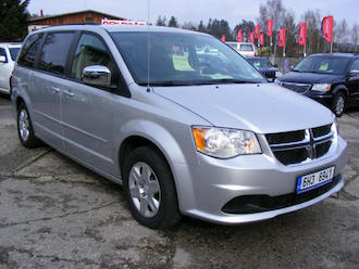 Grand Caravan 3,6 L, STOWN GO, E85