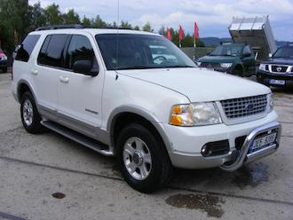 Explorer 4,6 V8 LIMITED , 7 míst