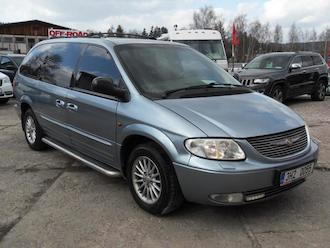 Grand Voyager 3,3 V6 LIMITED, LPG, 7 míst