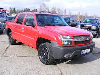 Avalanche 1500 5,3L V8, 4WD, LPG