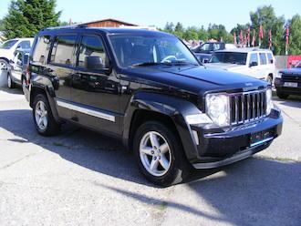 Cherokee 2,8 CRD,Limited,serviska, DPH