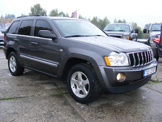 Grand Cherokee 5,7 V8 HEMI Limited, CZ