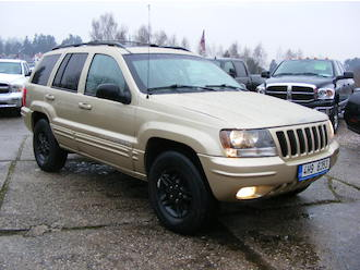 Grand Cherokee 4,0 L , TOP STAV, LPG