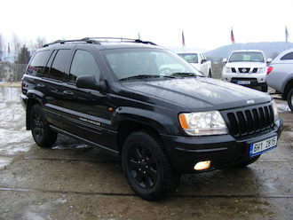 Grand Cherokee 4,7 V8 Limited, ČR, serviska