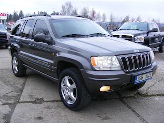 Grand Cherokee 2,7 CRD Limited, serviska, ČR