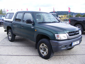 Hilux 2,5 D 4 x 4, HARD TOP, DPH