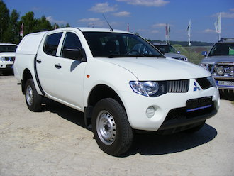 L200 2,5 DiD 4x4, Hard Top, DPH