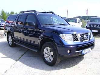 Navara 2,5 DCi 4 x 4, Hard Top