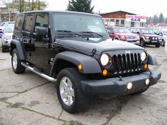 Wrangler 3,8 V6 UNLIMITED, LPG