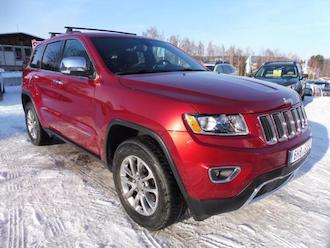 Grand Cherokee 3,6L V6, 4x4, Limited, panoram