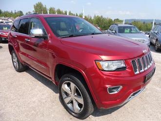 Grand Cherokee 3,6L V6 OVERLAND, ZADÁNO