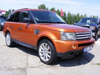 Range Rover Sport 4,2 L8  SUPERCHARGED